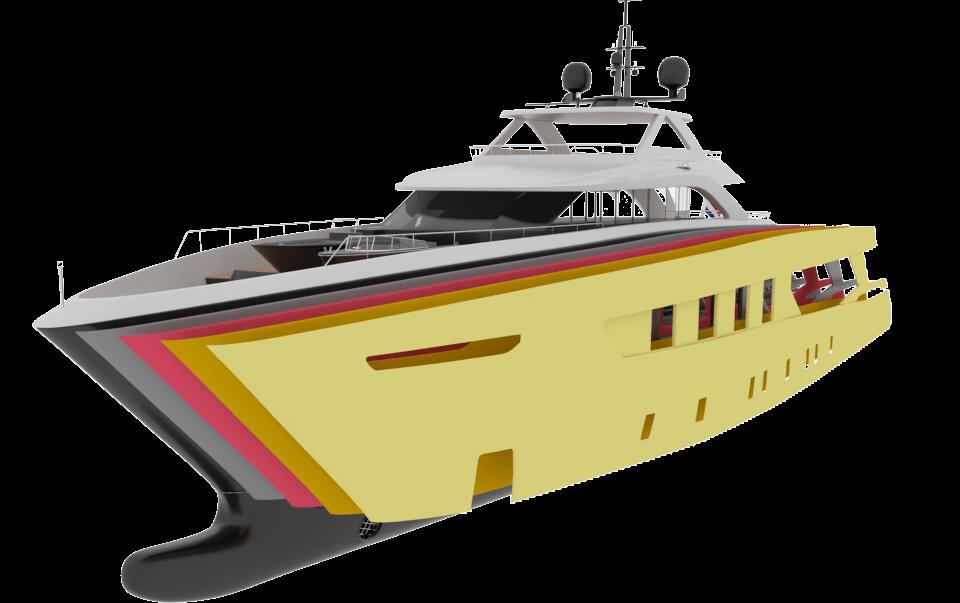 yacht paint phases FINE FILLER 3- Yacht Paint