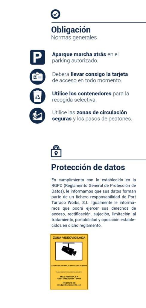 safety es Página 3 Safety and Environmental Rules