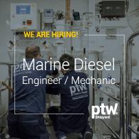 Marine Diesel Engineer / Mechanic