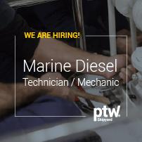 Marine Diesel Technician / Mechanic