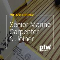 Senior Marine Carpenter & Joiner