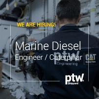 Marine Diesel Engineer / Caterpillar