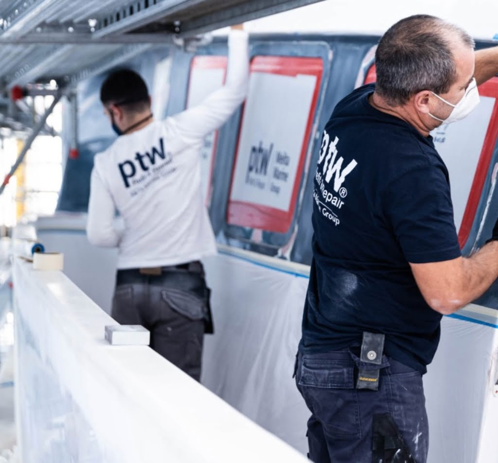 """39671706 cb27 48c2 8305 0d7c244ce922 10 minutes with Manuel González, Head of Yacht Paint at ptw Shipyard """"The art of superyacht repainting"""""""