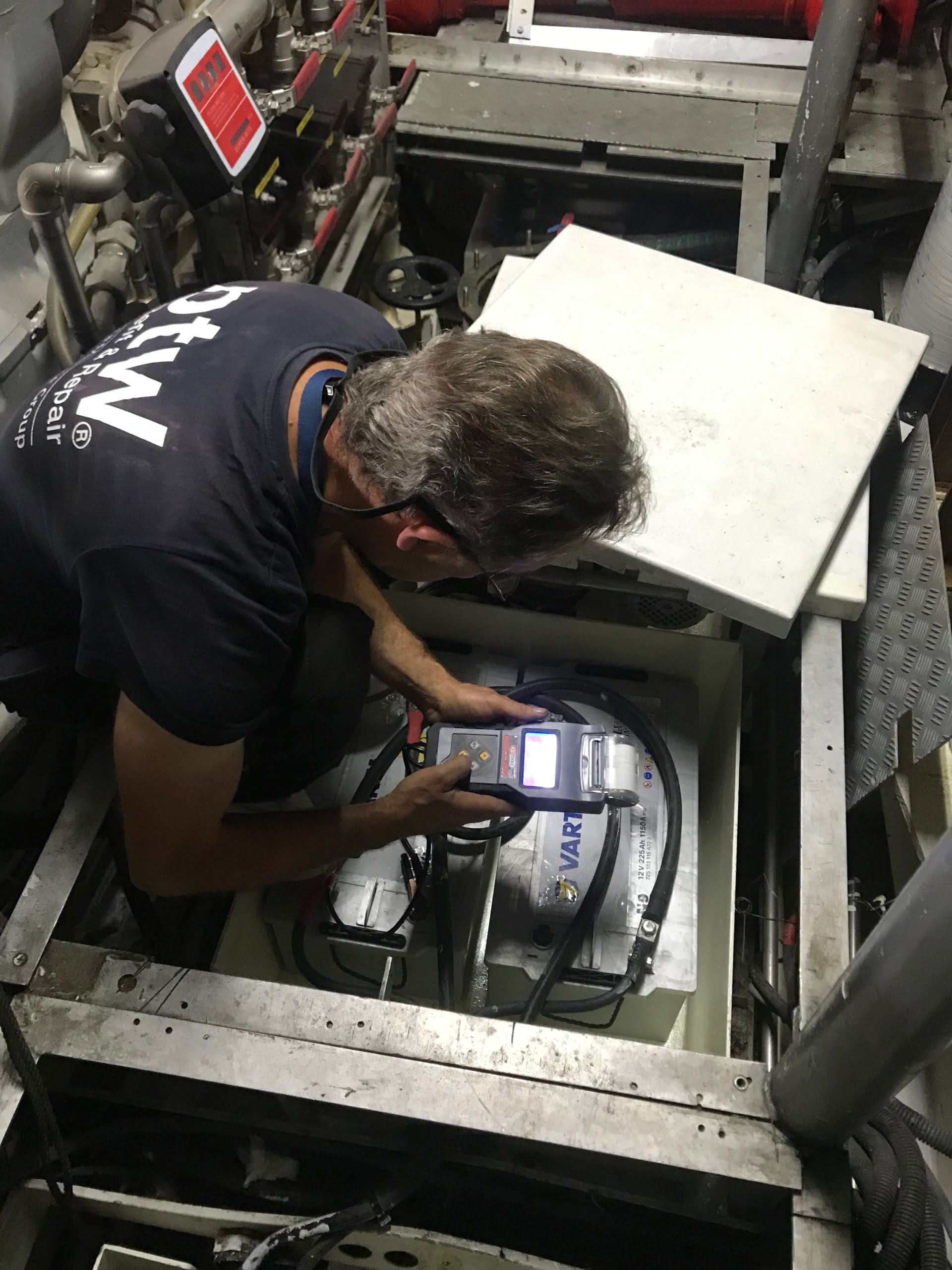 IMG 7102 scaled Superyacht electrical solutions at ptw Shipyard